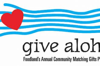 Give Aloha, Foodland's Annual Community Matching Gifts Program Begins!